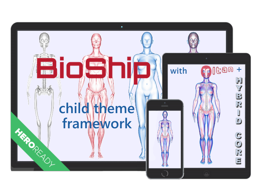 Bio Ship | wordpress child theme framework